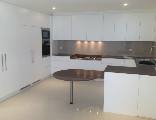 23 Epping Rd kitchen completion